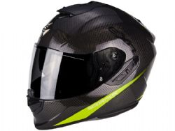 Casco Scorpion Exo-1400 Carbon Air Pure Amarillo