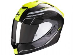Casco Scorpion Exo-1400 Carbon Air Beaux Blanco / Amarillo