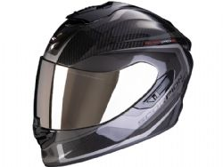 Casco Scorpion Exo-1400 Carbon Air Esprit Negro / Plata