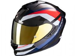 Casco Scorpion Exo-1400 Carbon Air Legione Rojo / Azul
