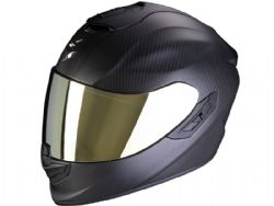 Casco Scorpion Exo-1400 Carbon Air Solid Negro Mate