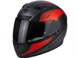 Casco Scorpion Exo-710 Air Mugello Negro / Rojo