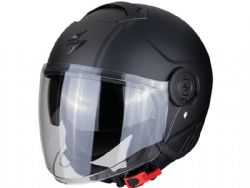Casco Scorpion Exo-City Avenue Negro Mate / Plata