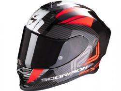 Casco Scorpion Exo-R1 Air Halley Negro / Rojo