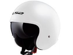 Casco Ls2 OF599 Spitfire Blanco