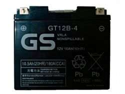 Batería Gs Battery GT12B4