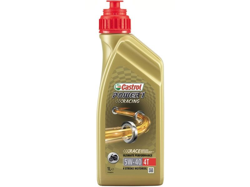 Aceite Castrol Power 1 Racing 4T 5W40 1 Litro