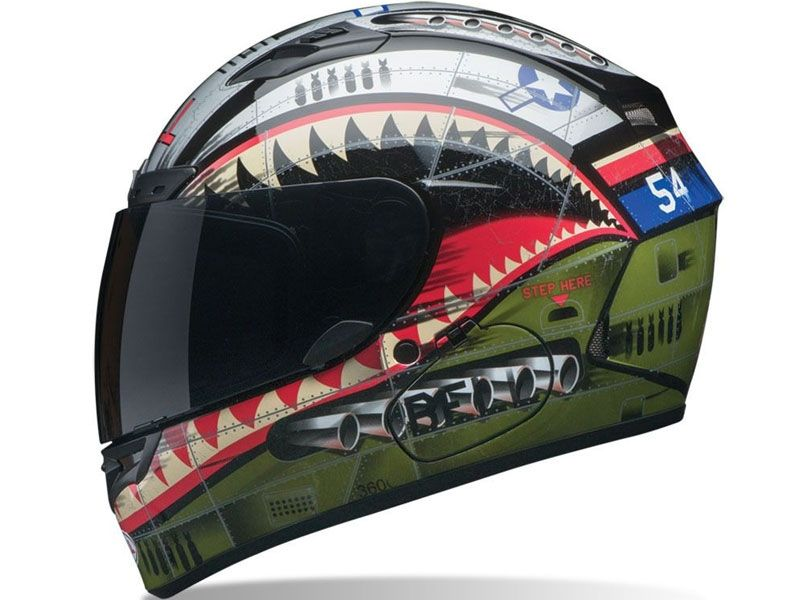 Casco Bell Qualifier Dlx Devil May Care Matte