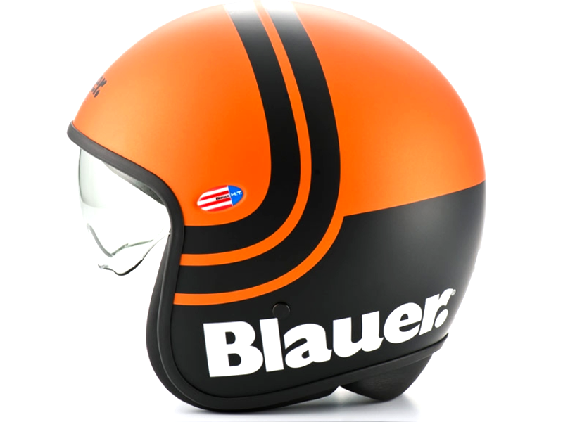 Casco Blauer Pilot 2.0 Orange Mat