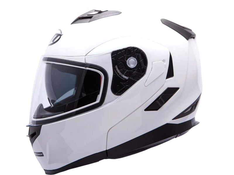 Casco Mt Flux Solid Blanco