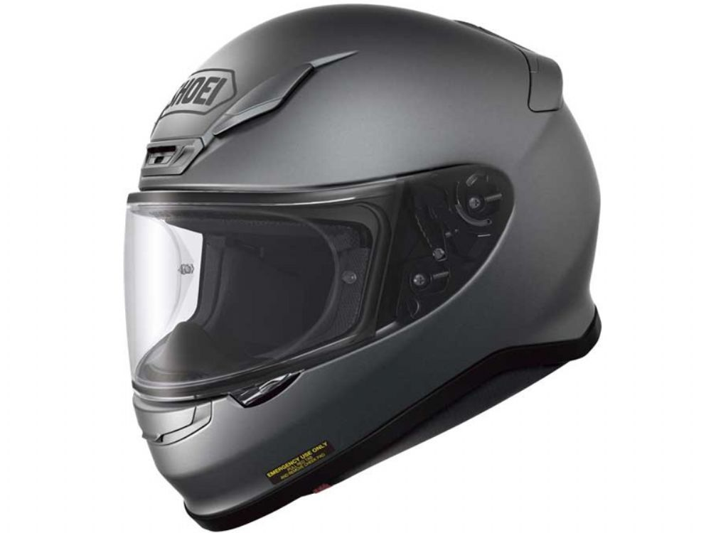 Casco Shoei Nxr Matt Deep Grey