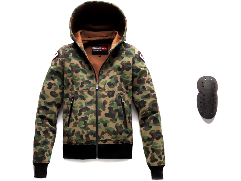 Chaqueta Blauer Easy Woman 1.1 Camouflage