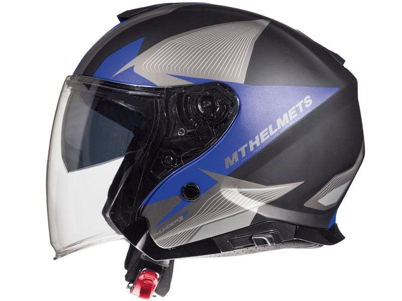 Casco Mt Helmets Thunder 3 Sv Jet Bow A3 amarillo