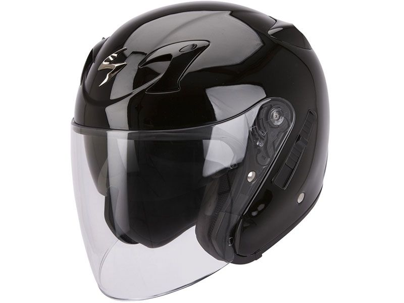 Casco Scorpion Exo-220 Solid Negro