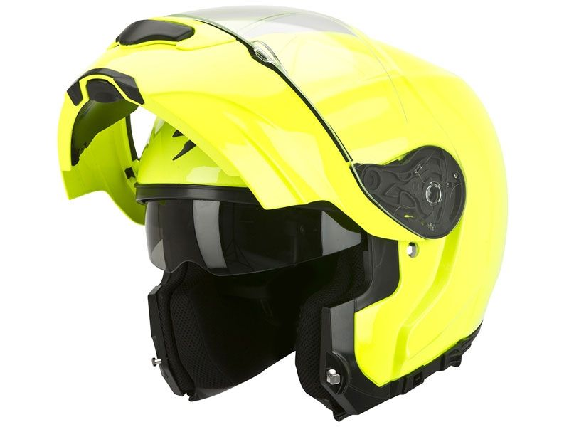 Casco Scorpion Exo-3000 Air Amarillo Fluor