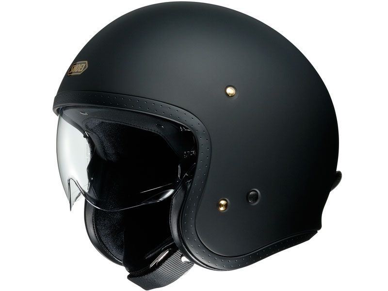 Casco Shoei J.O Matt Black