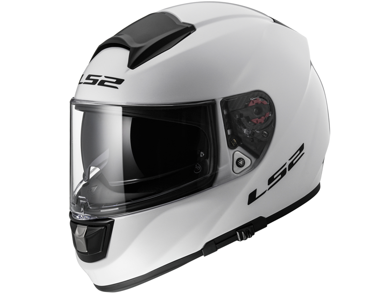 Casco Ls2 FF397 Vector Solid Blanco