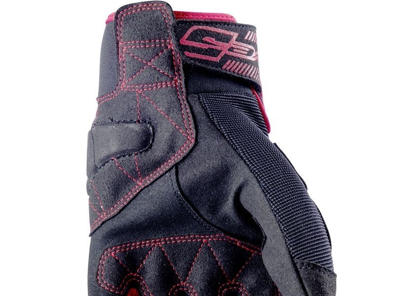 Guantes Five RS3 Negro  Rojo