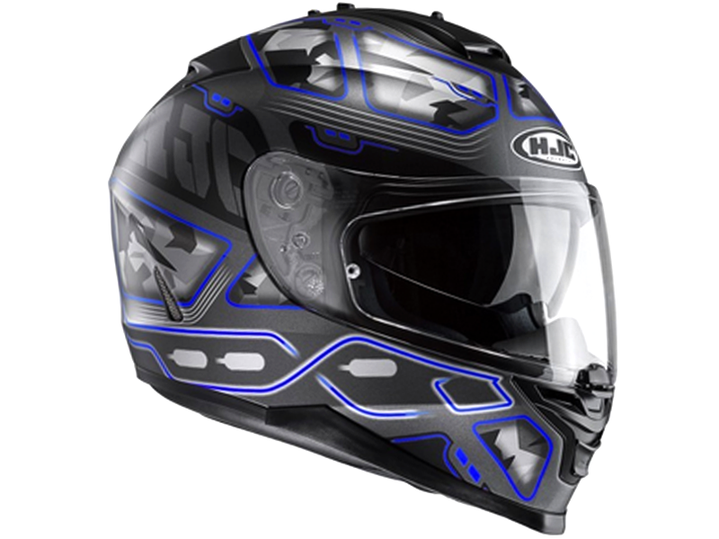 Casco Hjc IS-17 Uruk MC2SF