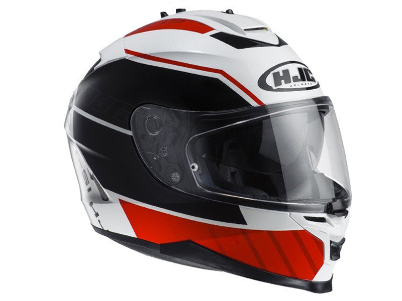 Casco Hjc IS-17 Tridents MC1