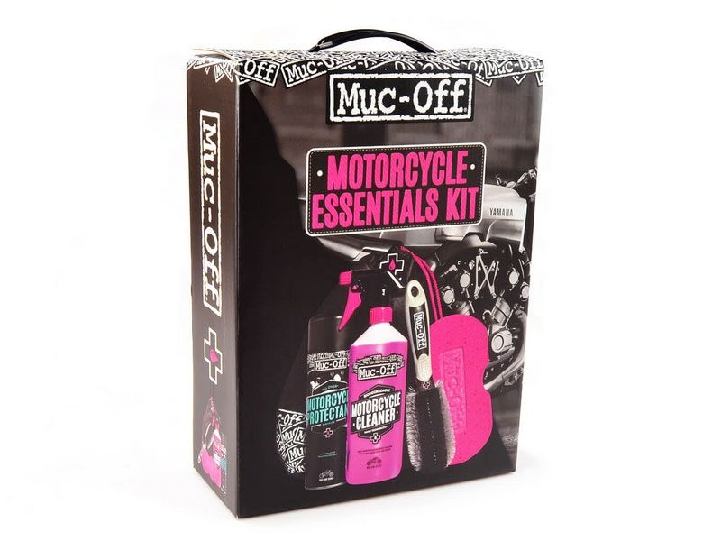 Kit completo limpieza Muc-Off Motorcycle Essentials