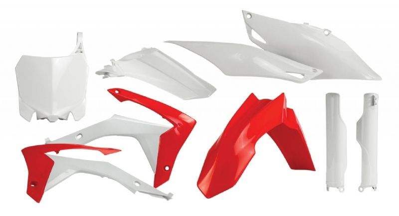 Acerbis 2314360227 Red Front Number Plate