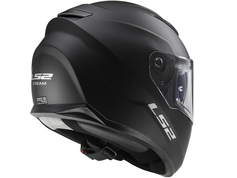 Casco Ls2 FF320 Stream Solid Negro Mate