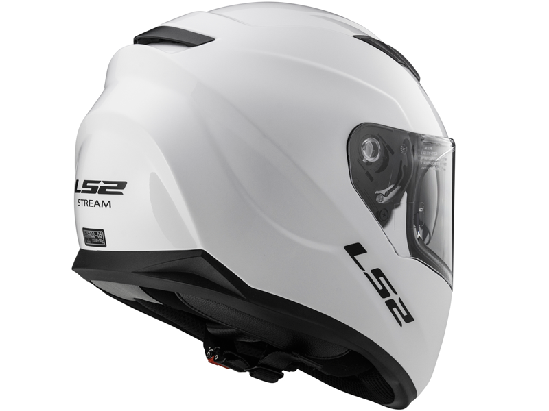 Casco Ls2 FF320 Stream Evo Solid Blanco
