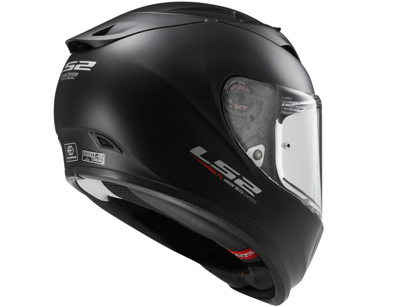 Casco Ls2 FF323 Arrow R Evo Solid Negro Mate