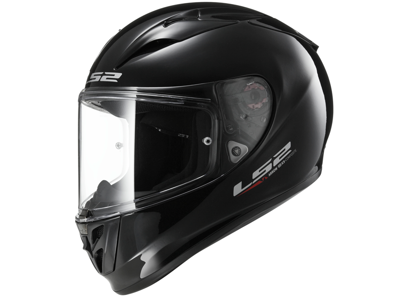 Casco Ls2 FF323 Arrow R Evo Solid Negro