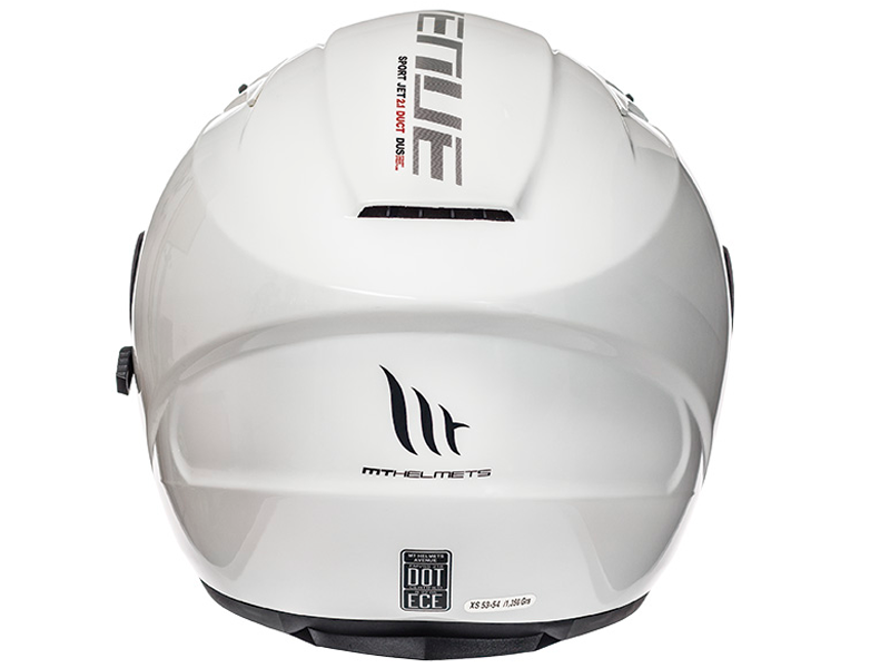 Casco MT Avenue Sv Solid Blanco