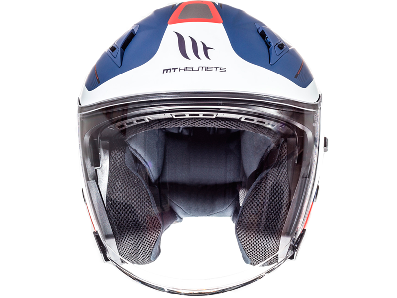 Casco Mt Avenue Crossroad Matt Blue-White-Red