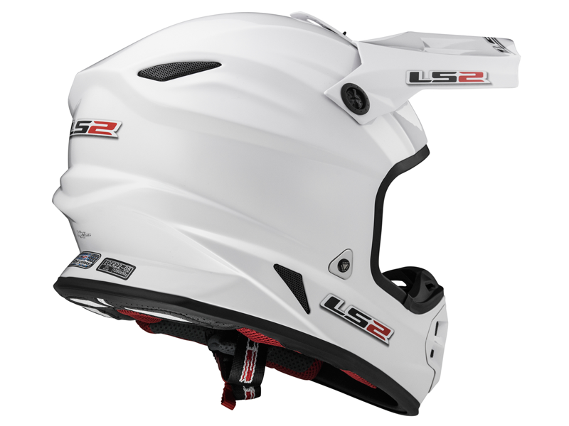 Casco Ls2 MX456 Light Evo Solid Blanco
