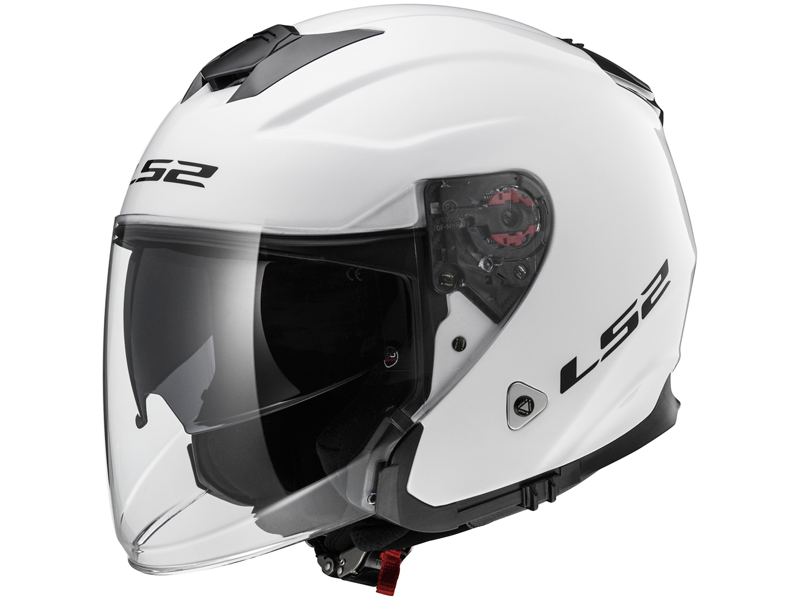 Casco Ls2 OF521 Infinity Solid Blanco