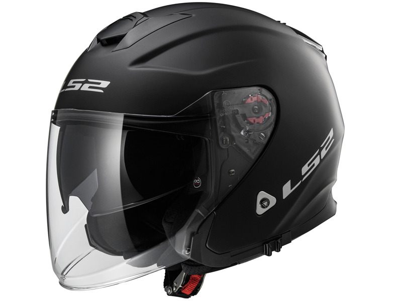 Casco Ls2 OF521 Infinity Solid Negro Mate