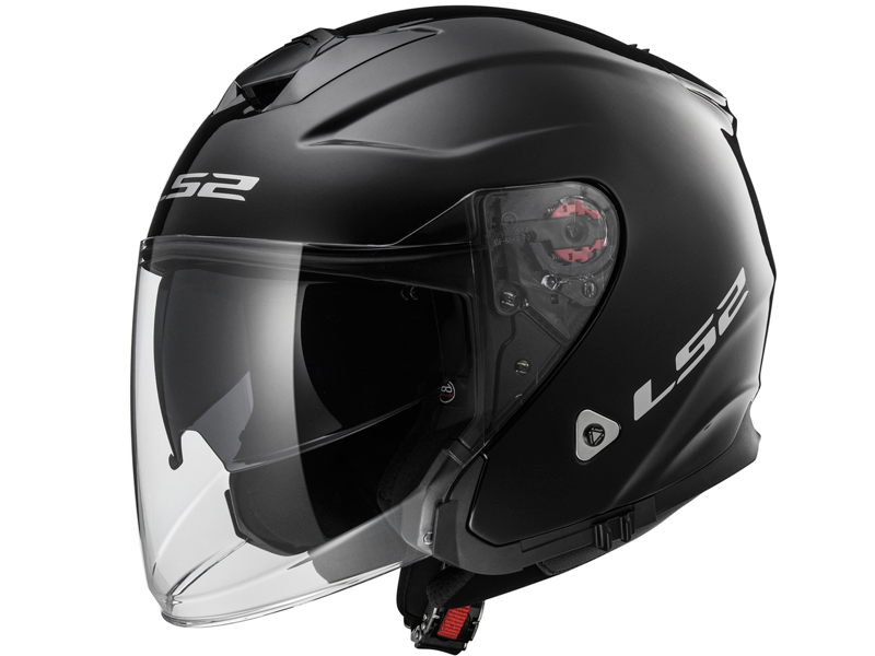 Casco Ls2 OF521 Infinity Solid Negro