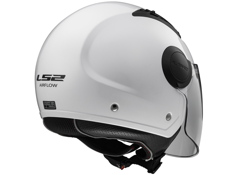 Casco Ls2 OF562 Airflow L Solid Blanco