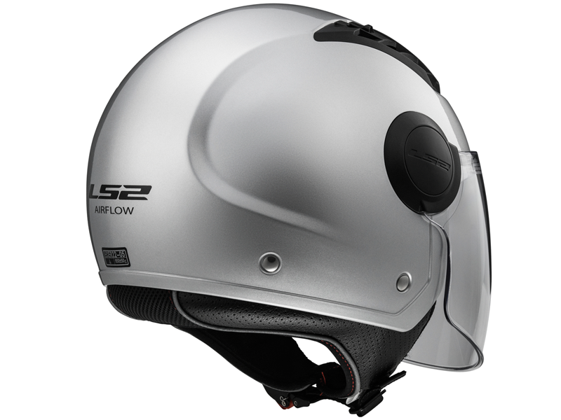 Casco Ls2 OF562 Airflow L Solid Plata