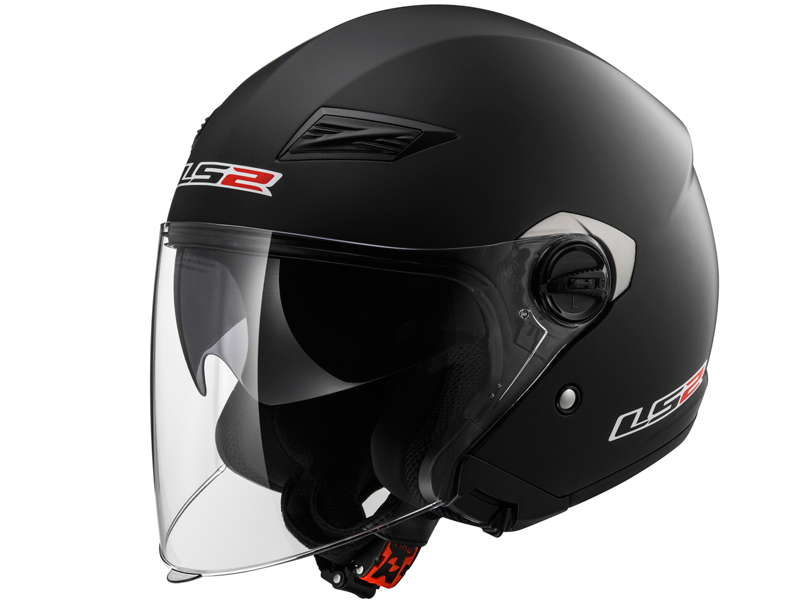 Casco Ls2 OF569 Track Solid Negro Mate