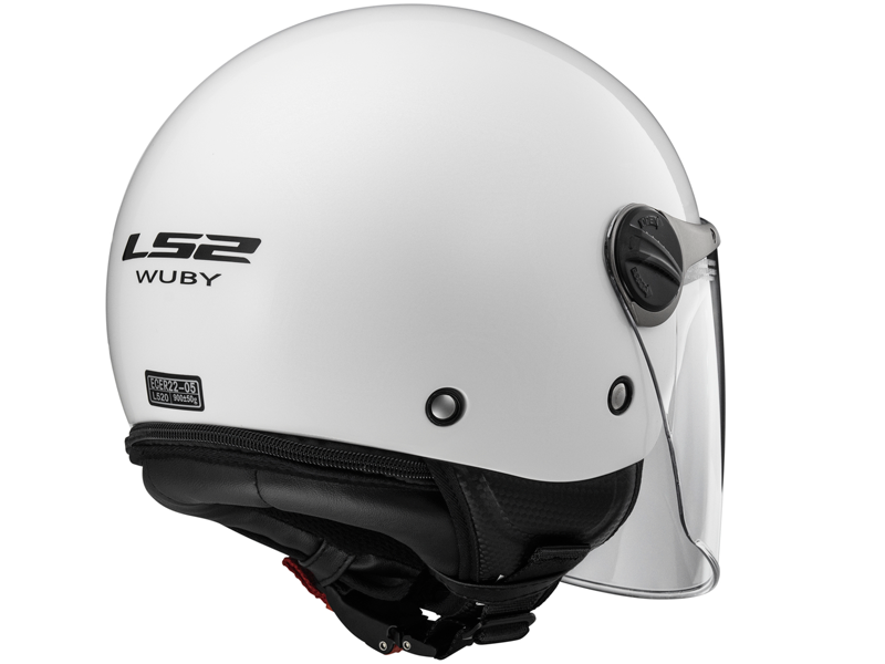 Casco Ls2 OF575J Wuby Solid Blanco