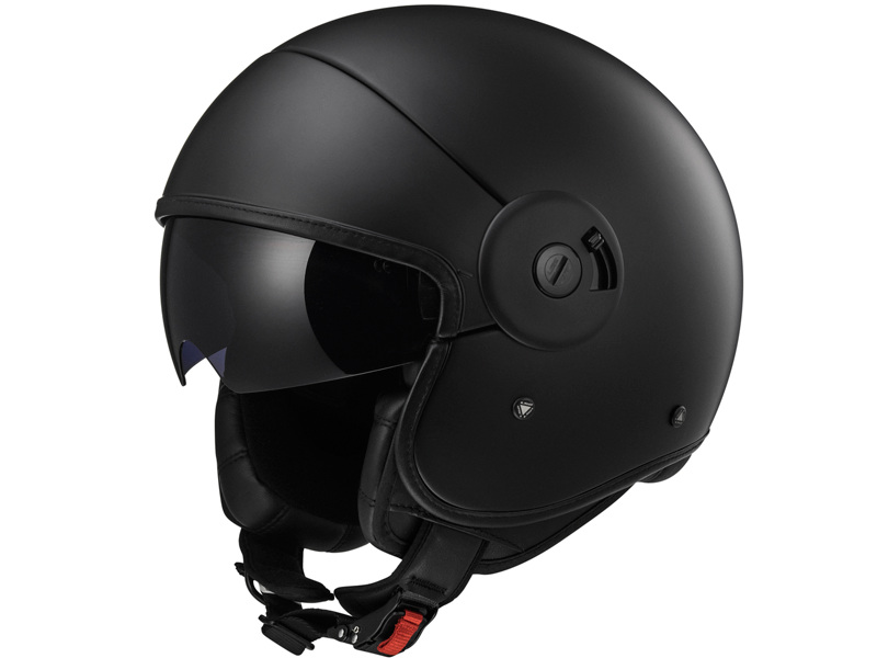 Casco Ls2 OF597 Cabrio Full Negro Mate