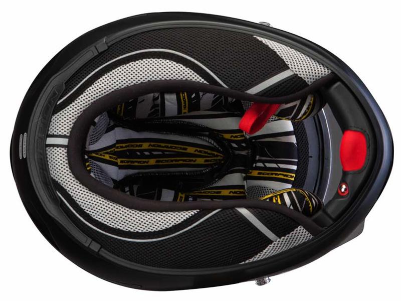 casco scorpion exo 2000 evo air track negro. Black Bedroom Furniture Sets. Home Design Ideas
