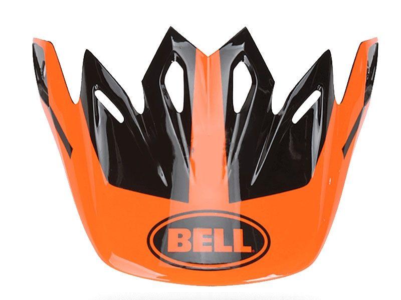 3f03a49118bd8 Visera casco Bell Moto-9 Infrared Intake Naranja   Negro