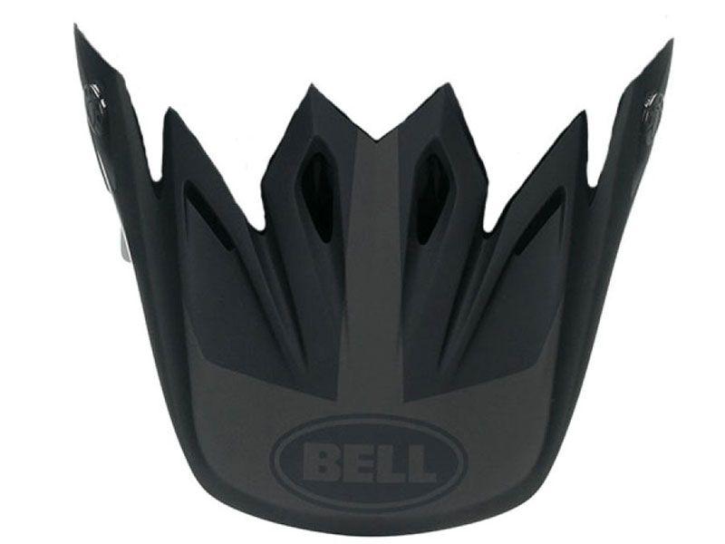 03690908377f8 Visera casco Bell Moto-9 Intake Negro Mate
