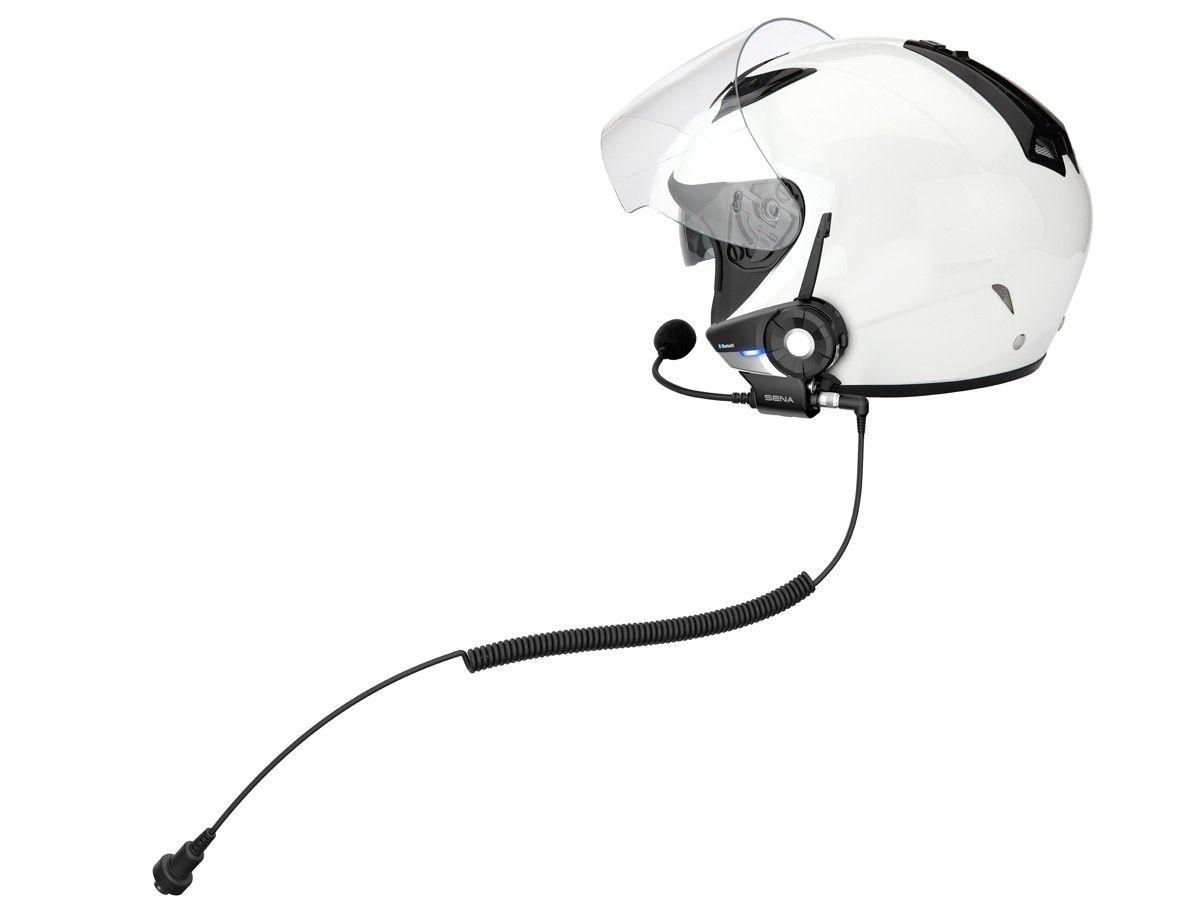Sena 20S-A0202 Kit de Sujeci/ón a Casco Universal con Micr/ófonos para Sena 20S